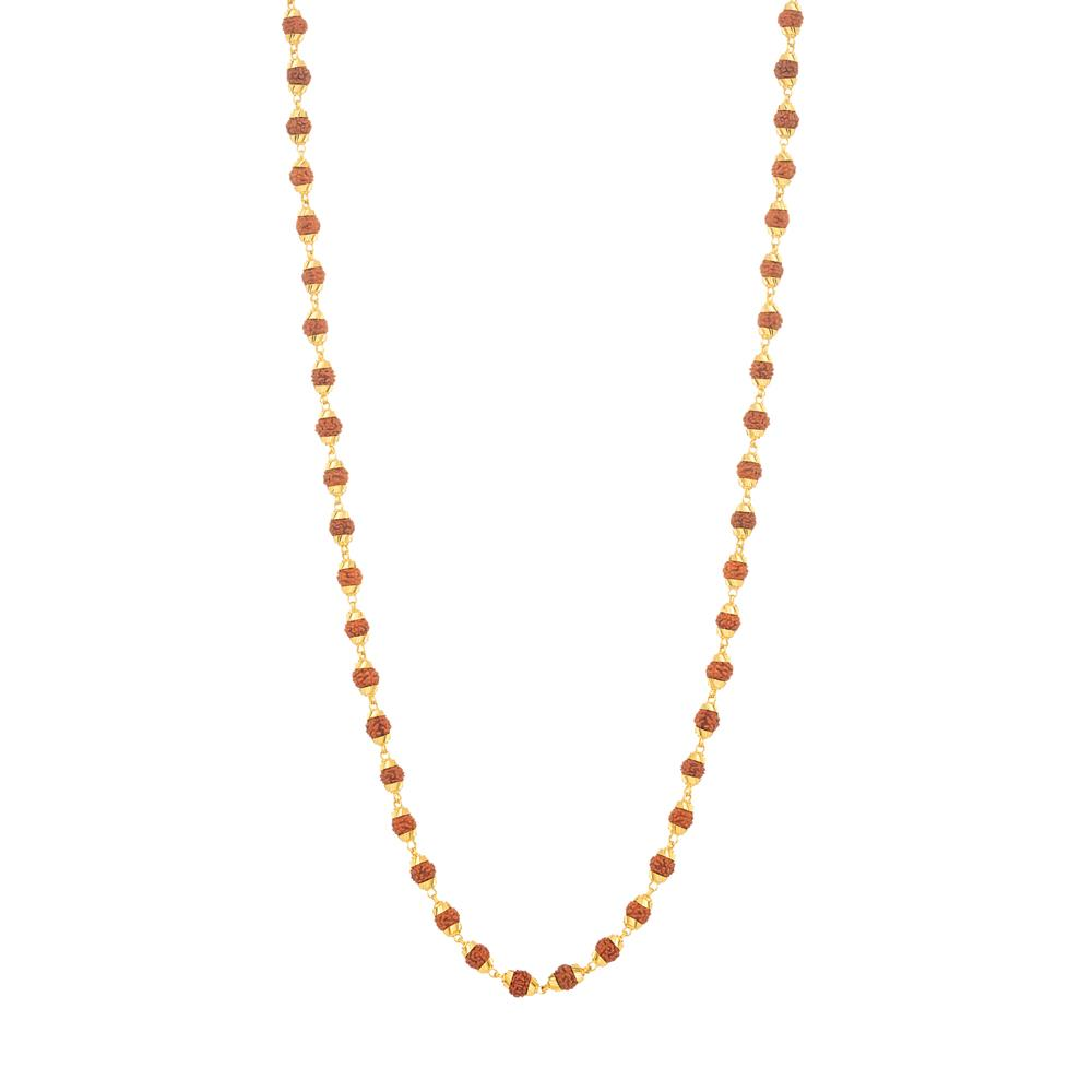 22ct Gold Rudraksh mala Mala Rudraksh YGML030