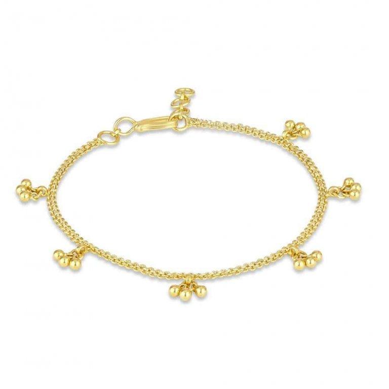 22ct Gold Ladies Bracelet 4.8gm