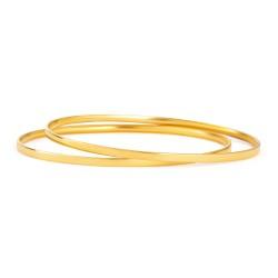 22ct Gold  Bangles  17.5gm