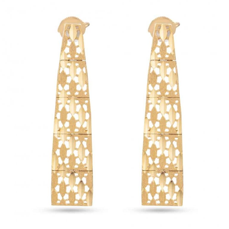 22ct Gold Earring 5.7 gm