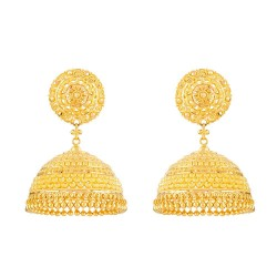 22 Carat Gold Earrings UK