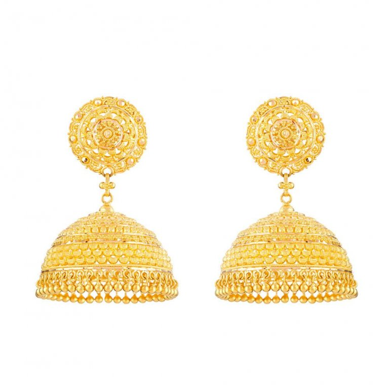 22 Carat Gold Earrings UKJali Earring with Fine Filigree DesignWt. 31.6 gmsSKU. 32361All prices include VATAll our products are hallmarked by London Assay OfficeComes with presentation boxDelivery IncludedContact us / Chat with us to see video of Product