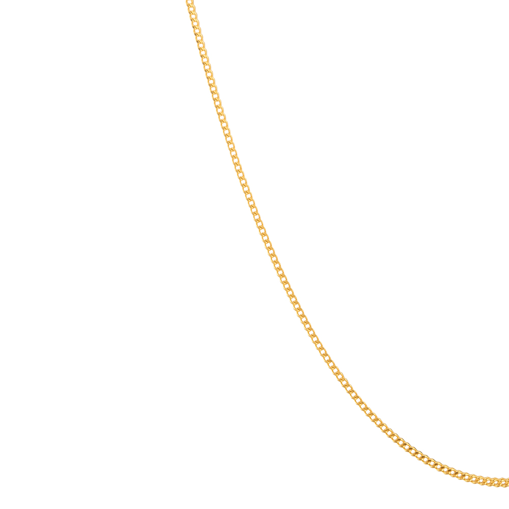 22ct Gold Chain Foxtail CHFX199