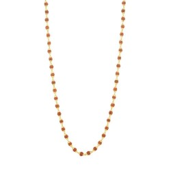 22ct Gold Rudraksh Gold Mala 13.9gm