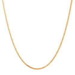 22ct Gold Light Spiga Chain CHSP255