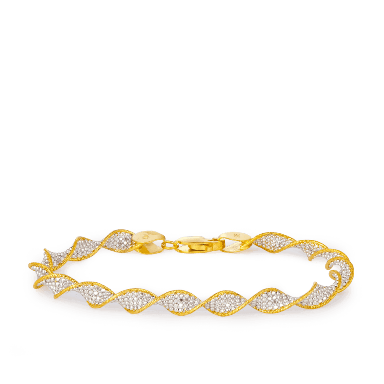 22ct Gold Women Bracelet UK – 33959