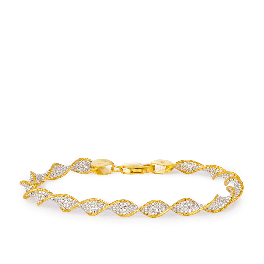 22ct Gold Women Bracelet UK - 33959