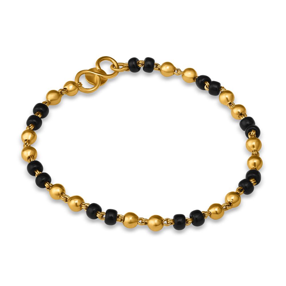 22ct Gold Baby Bracelet 32843-1