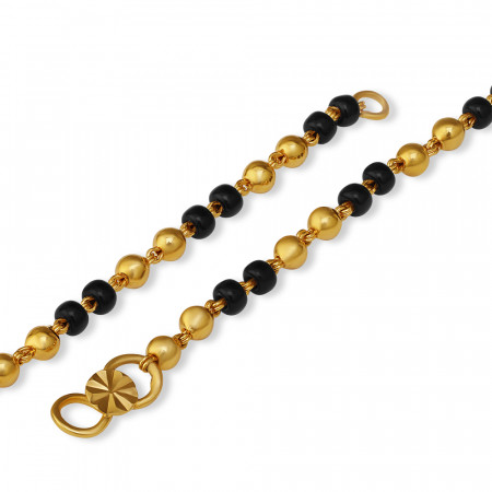 22ct Gold Baby Bracelet 32843-2