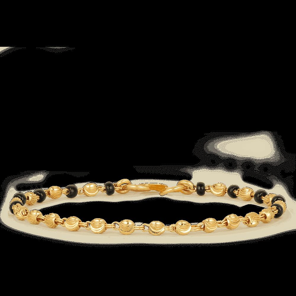 22ct gold children's bracelet