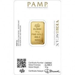 Pamp Swiss Made Fine Gold Bar