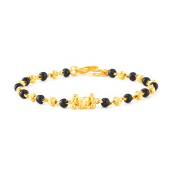 22ct Gold Baby Bracelet 2.5gm