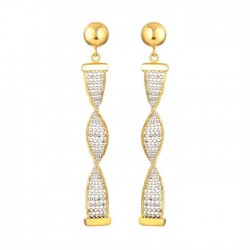 22ct Gold Earring 4.9 gm