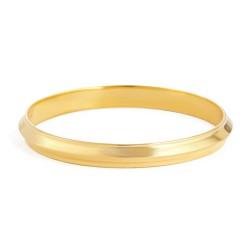 22ct Gold Medium Kara Baby Bangle YGBB031