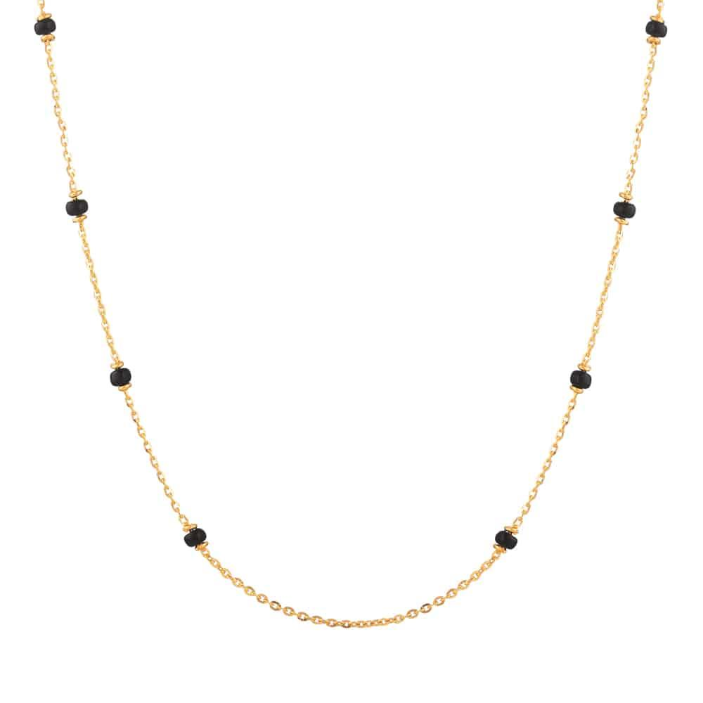 22ct Gold Mangalsutra Single line Chain YGMG107