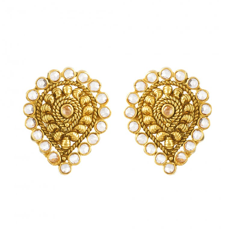 22ct Gold Earring 5.4 gm