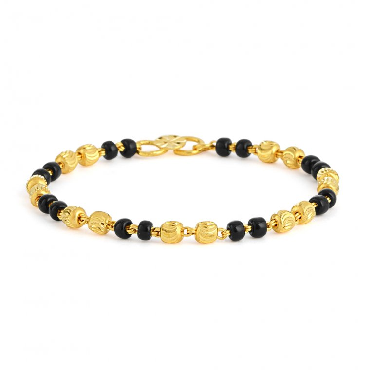 22ct Gold Baby Bracelet 2.4gm