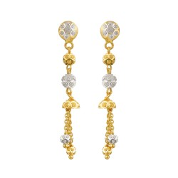 22ct Gold Earring 4.9gm