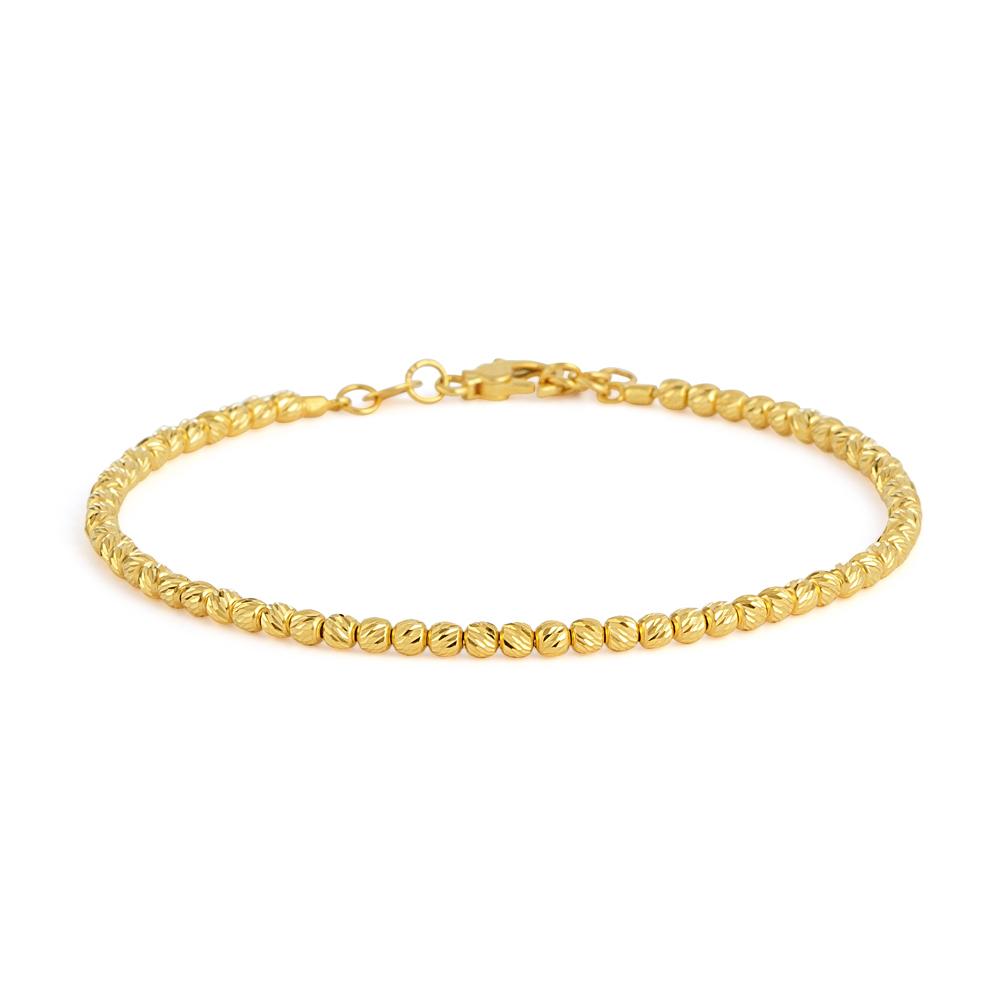 22ct Gold Medium Ladies Bracelet YGBR145