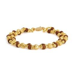22ct Gold Rudraksh Bracelet YGGB047