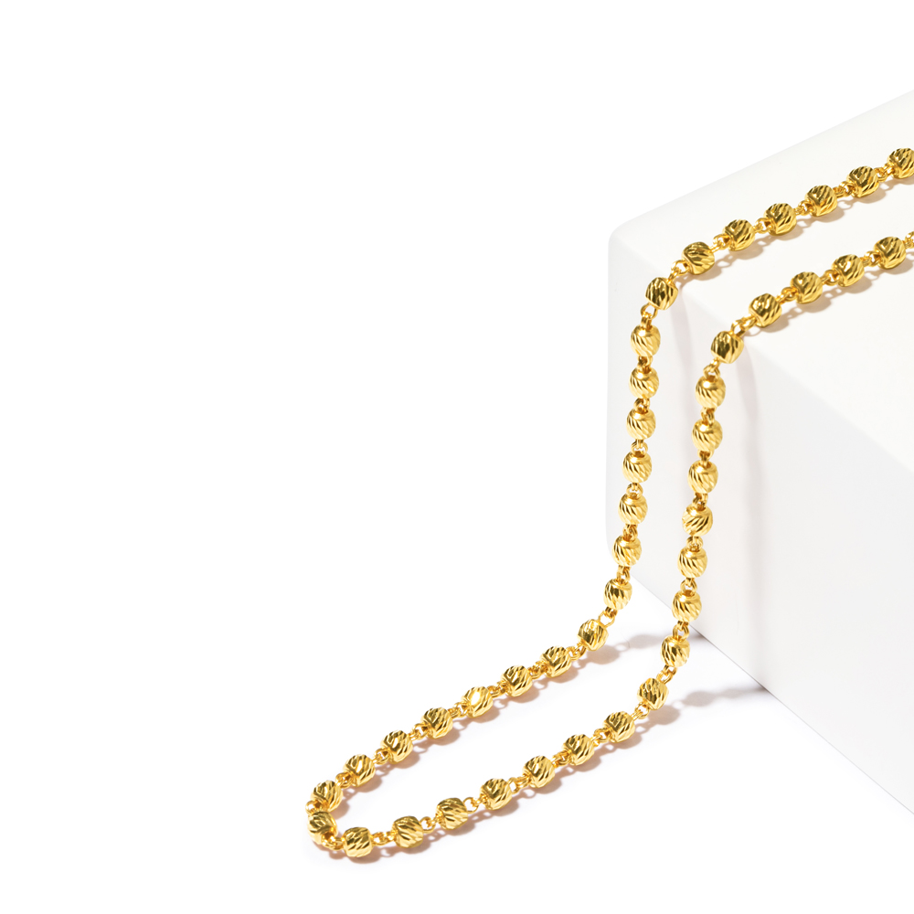 22ct Gold Heavy Fancy Chain CHFC278