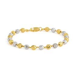 22ct Gold Ladies Bracelet 9.6gm