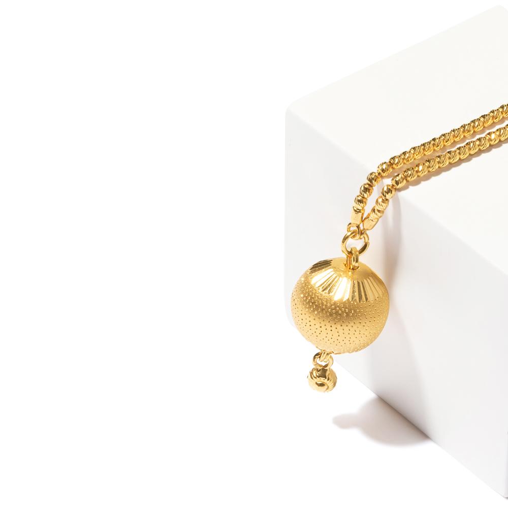 22ct Gold Choker Chain YGCK068