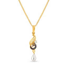 Jali 22ct light Filligree  Pendant JLPN182
