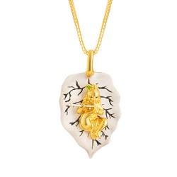 22ct Gold Pendant Sri Krishna YGPN164