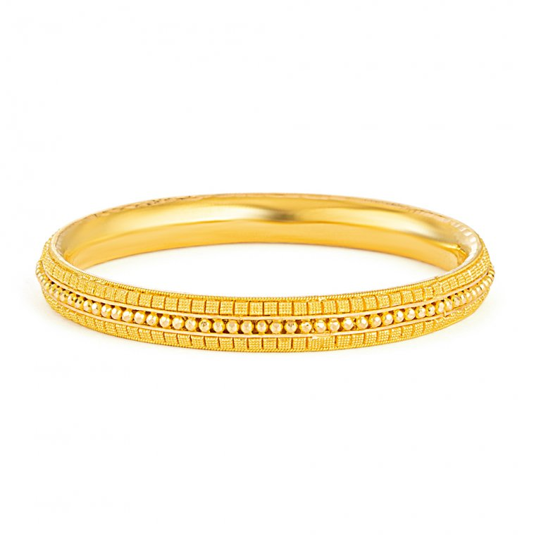 Jali Collection 22ct Gold Kada 20gm
