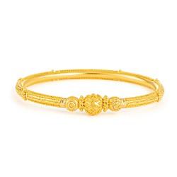 Jali Collection 22ct Gold Kada 15gm