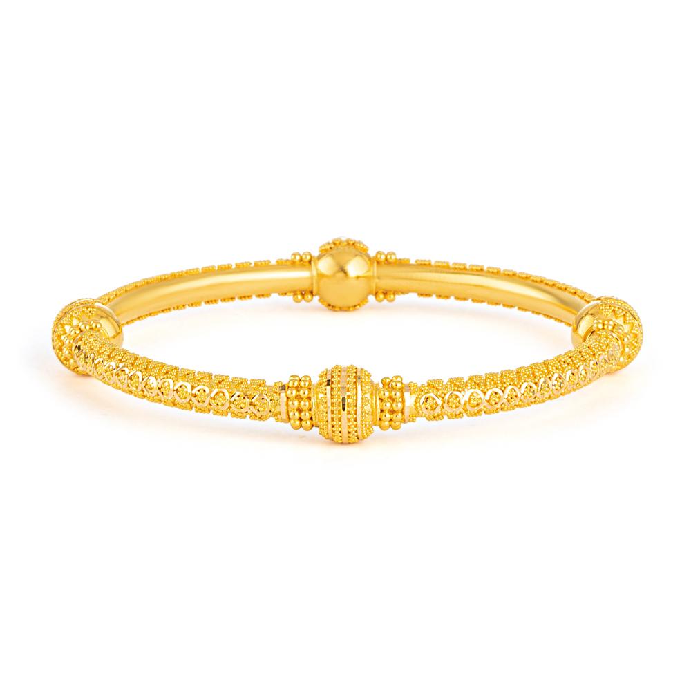 Jali Collection 22ct Gold Kada JLKD487