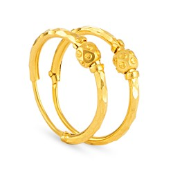 22ct Gold Earring 2.4 gm