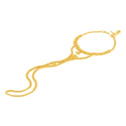 Jali Collection 22ct Gold Poncha 15gm
