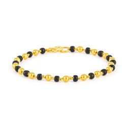 22ct Gold Baby Bracelet 2.2gm
