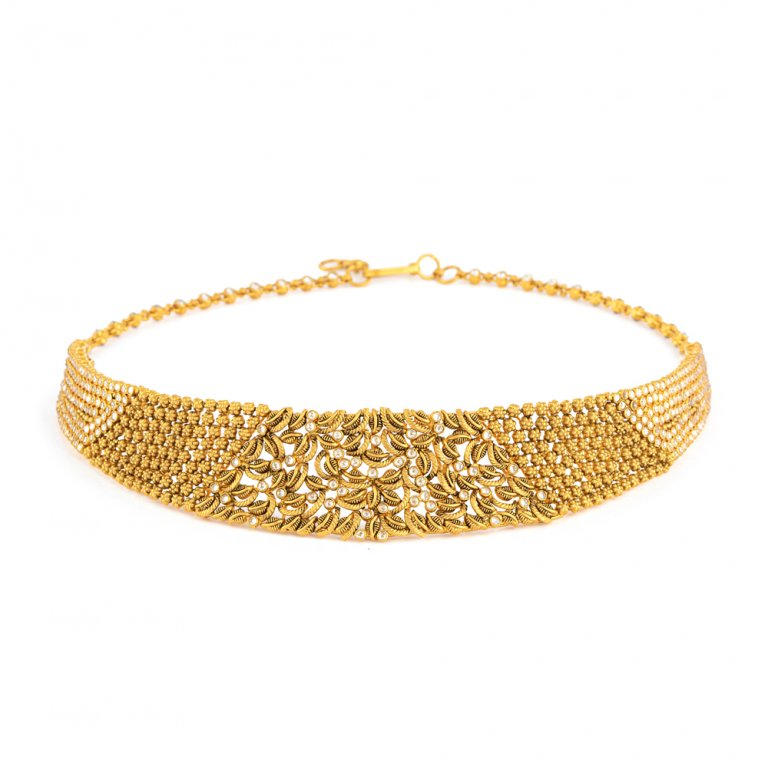 22ct Gold Necklace 40.4gm