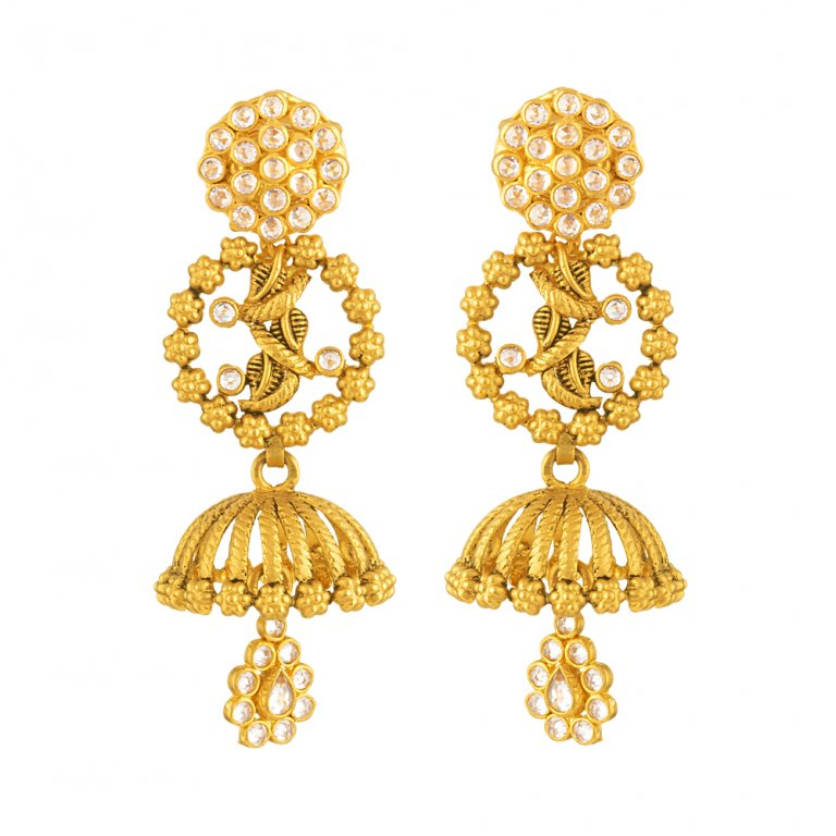 22ct Gold Earring 11.5gm