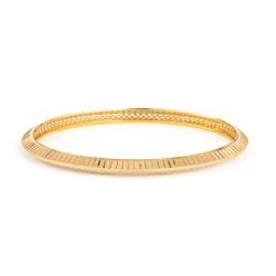 22ct Gold Daily Wear Bangle YGBG116