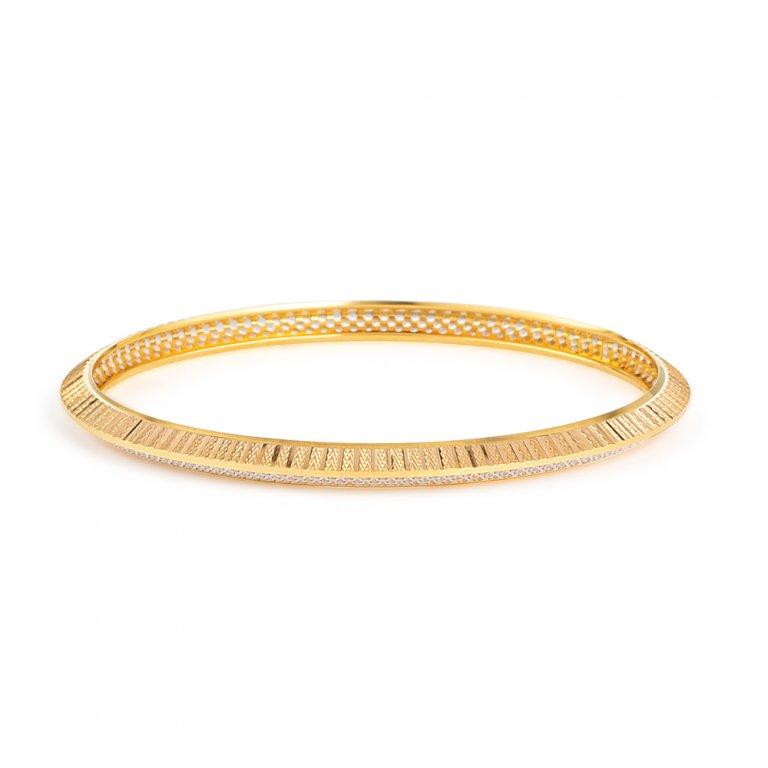 22ct Gold Bangle 14.1gm