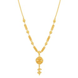 Jali Collection 22ct Gold Necklace 13.2gm