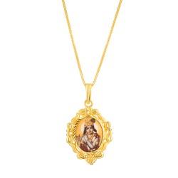 22ct Gold Pendant Sri Krishna YGPN166