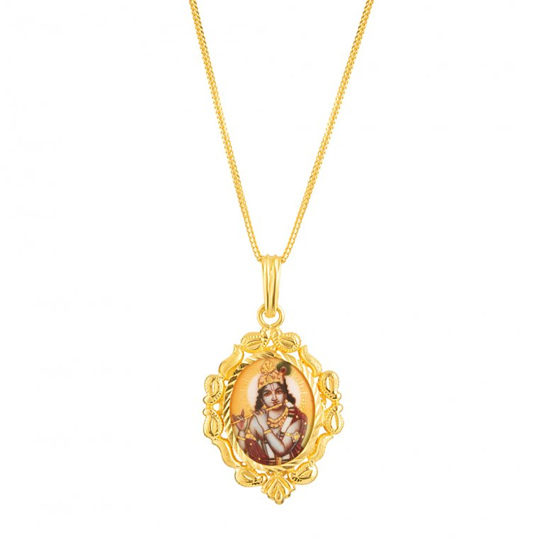 22ct Gold Pendant 5.9gm