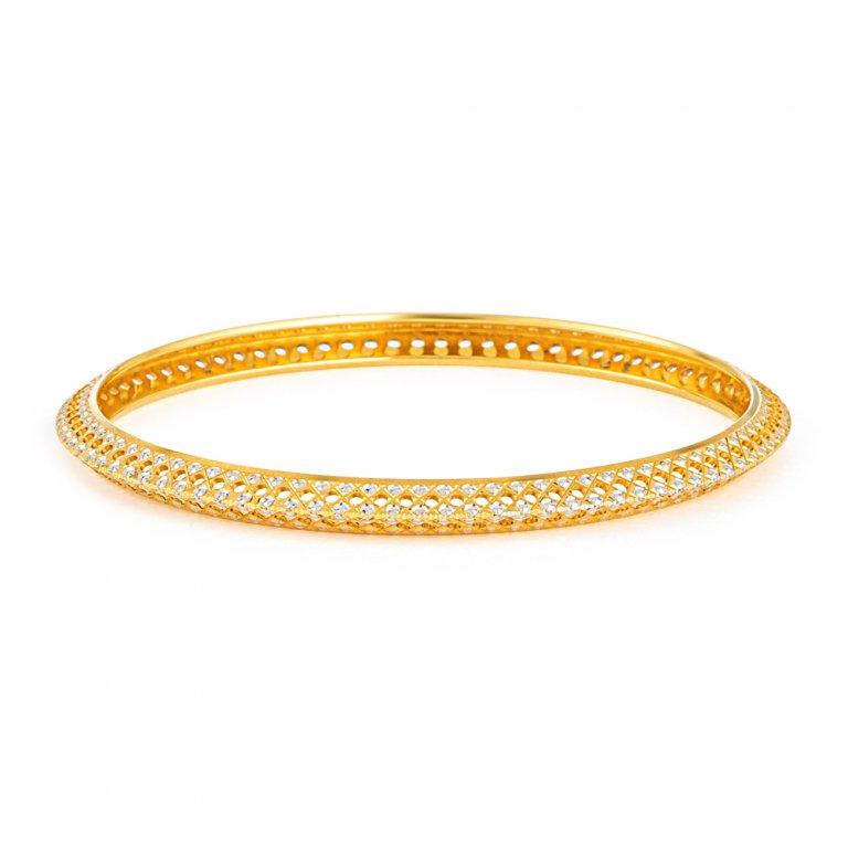 22ct Gold Bangles 12.9gm