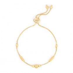 22ct Gold Ladies Bracelet Ball YGBR088