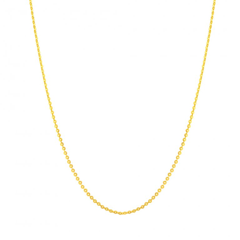 22ct Gold Chain 2.7 gm 16 Inches