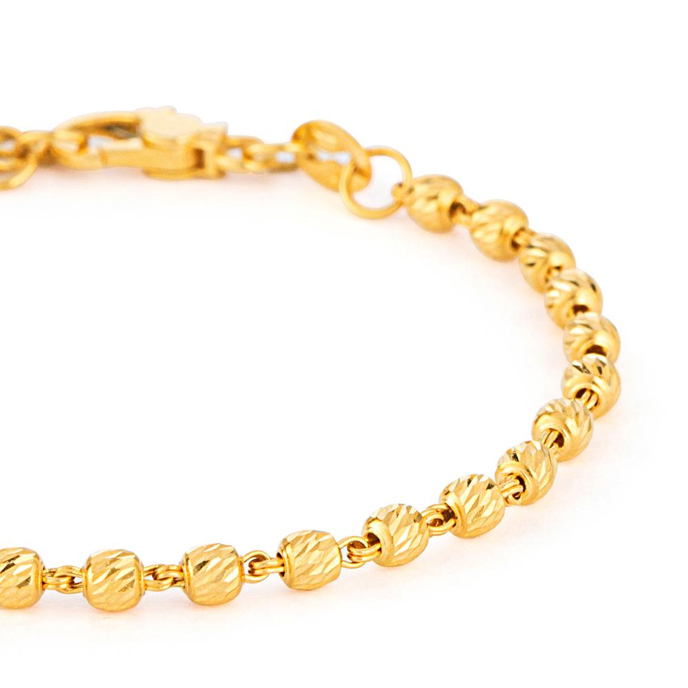 22ct Gold Medium Ladies Bracelet YGBR146