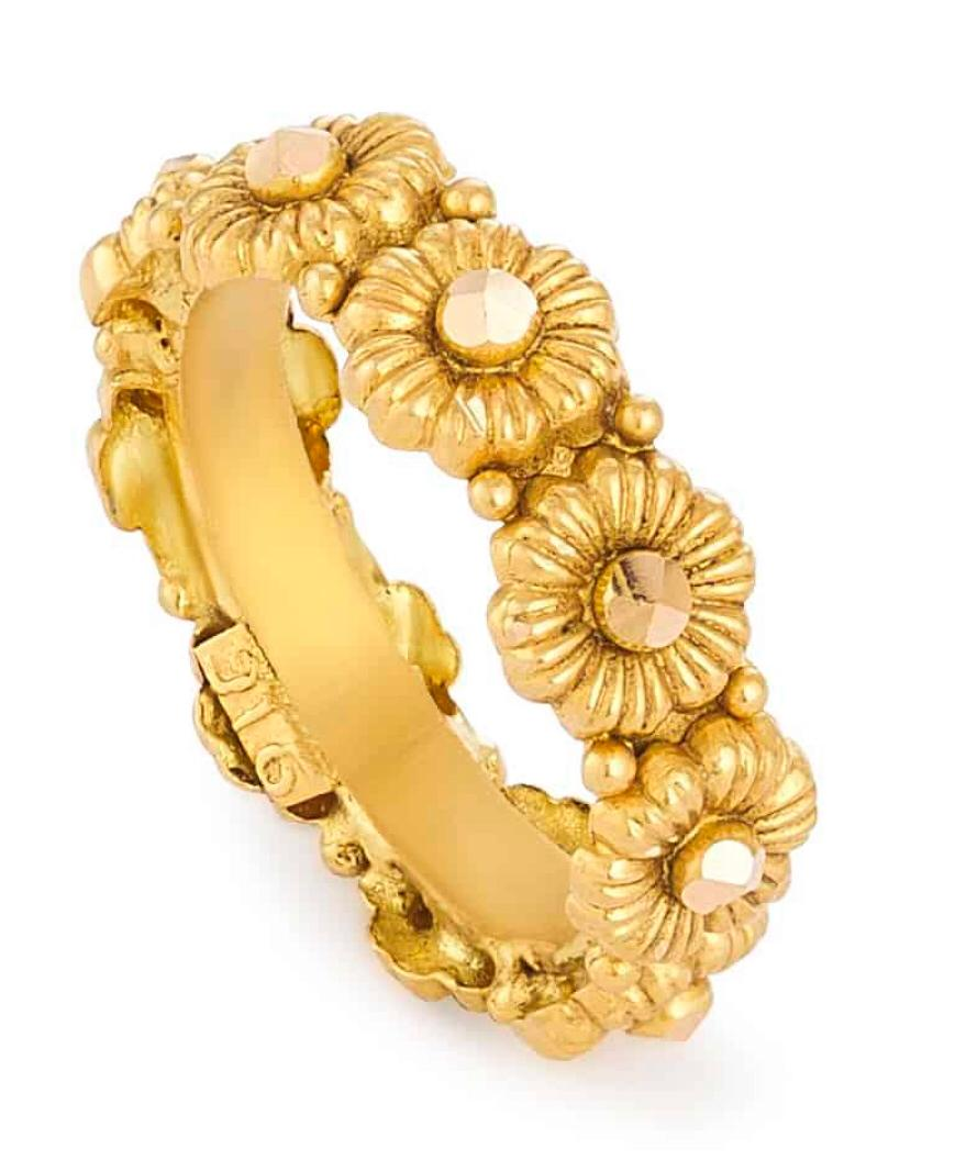 Rosettes Collection 22ct Gold Ring Antique Ring RSRG057