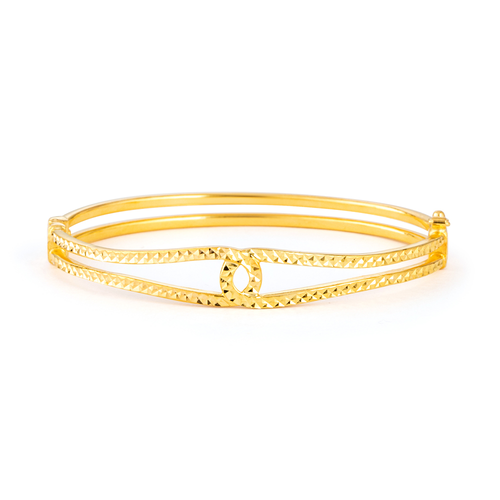 22ct Gold Kada Party Wear YGKD093