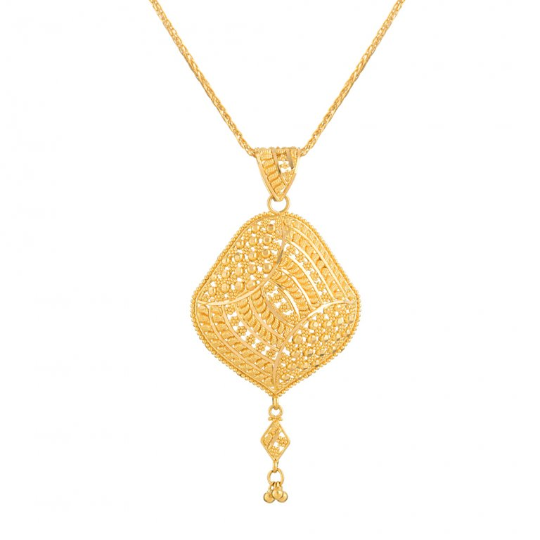 Jali Collection 22ct Gold Pendant 7.2gm