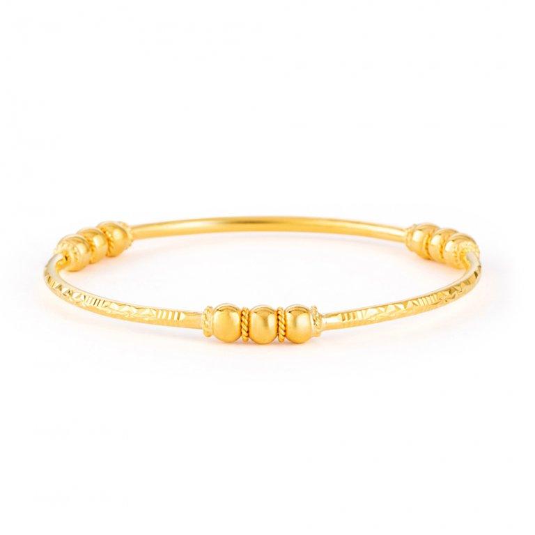 Jali Collection 22ct Gold Kada 11.5gm